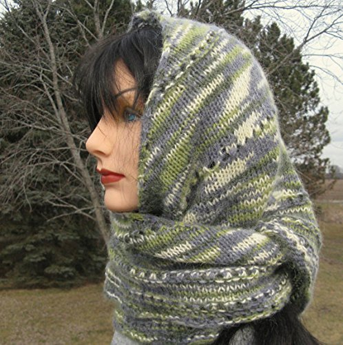 Hand knit Alpaca Shawlette by North Star Alpacas