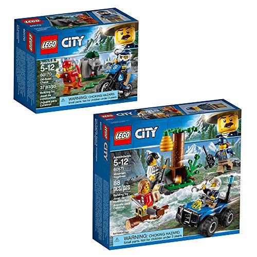 LEGO City Police City Police Bundle Building Kit (125 Piece)