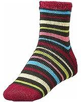 Yaktrax Womens Cozy Cabin Socks Heather Multicolor