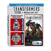 Transformers: Age of Extinction [EXCLUSIVE KREON FIGURES] (KRE-O + BLU-RAY + DVD + DIGITAL HD) by Paramount
