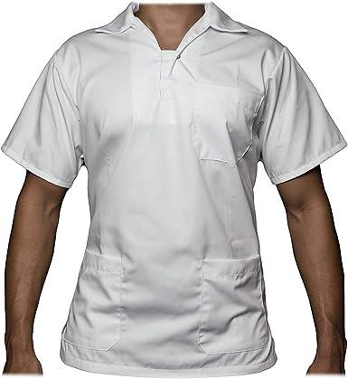 Uvex Whitewear 218 – Camisa Blanca para Hombre – Casaca para ...