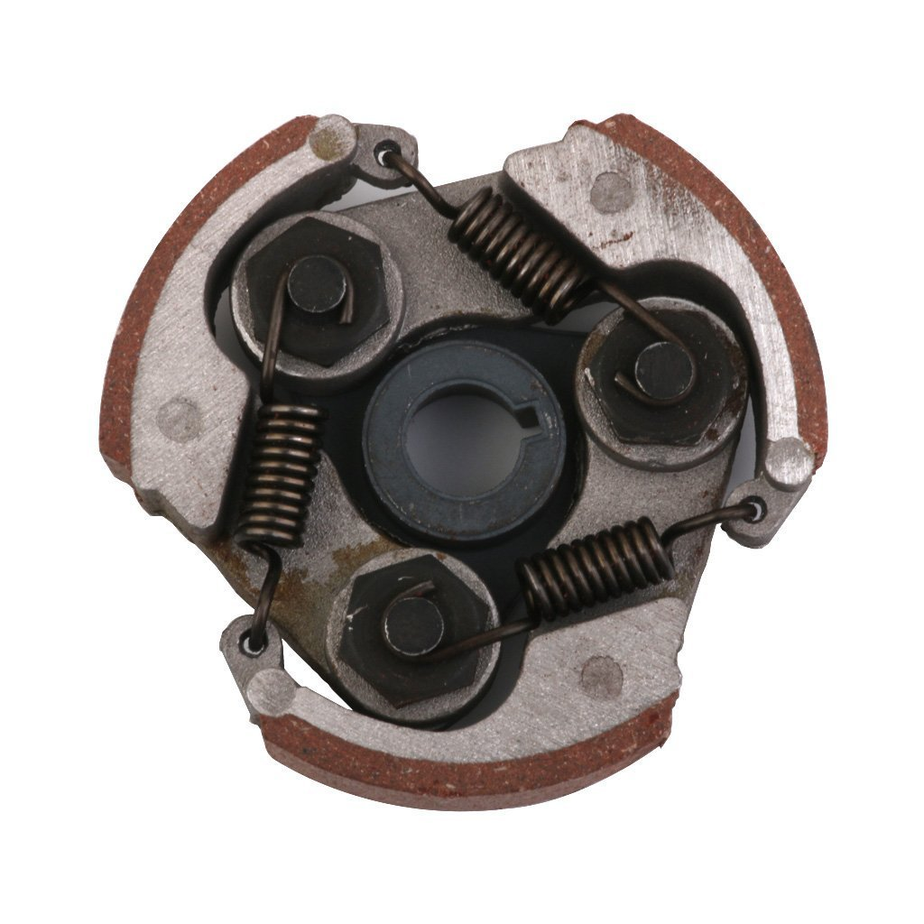 SODIAL(R)1x 3 shoes centrifugal clutch plate 49cc mini pocket pit quad ATV Dirt ride, coffee 072724