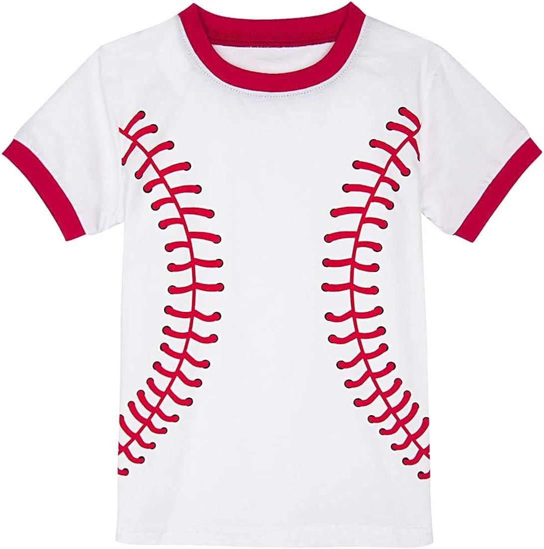 A/&J DESIGN Boys Soccer Pajamas Cotton Short Sleeve Sets