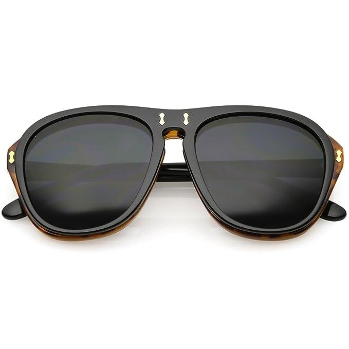 Amazon.com: sunglassla – para hombre dos tonos flip-up ...