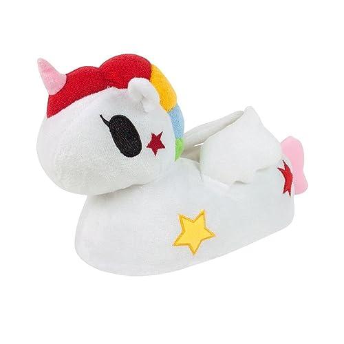 Tokidoki - Pantuflas/Zapatillas de Estar por casa diseño Unicornio en 3D para niños y niñas: Amazon.es: Zapatos y complementos