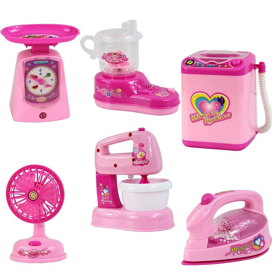 Bibmmo Kids Simulation Small Electric Kitchen Home Appliances Role Play Pretend Toy Quilt Stands