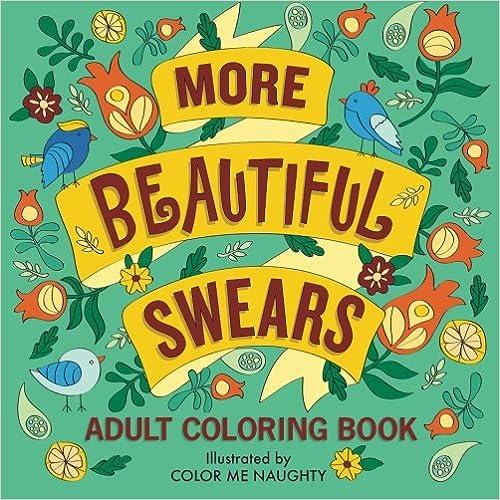 Adult Coloring Book More Beautiful Swears