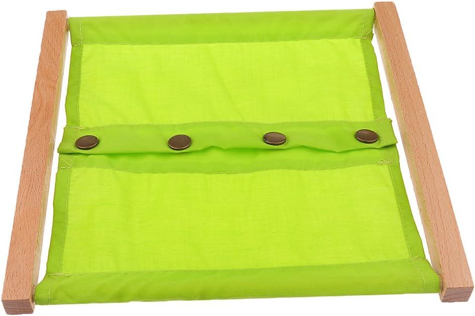 3 Pezzi Montessori Cornici Di Vestitura Imparare Staccare Bottone Zipping