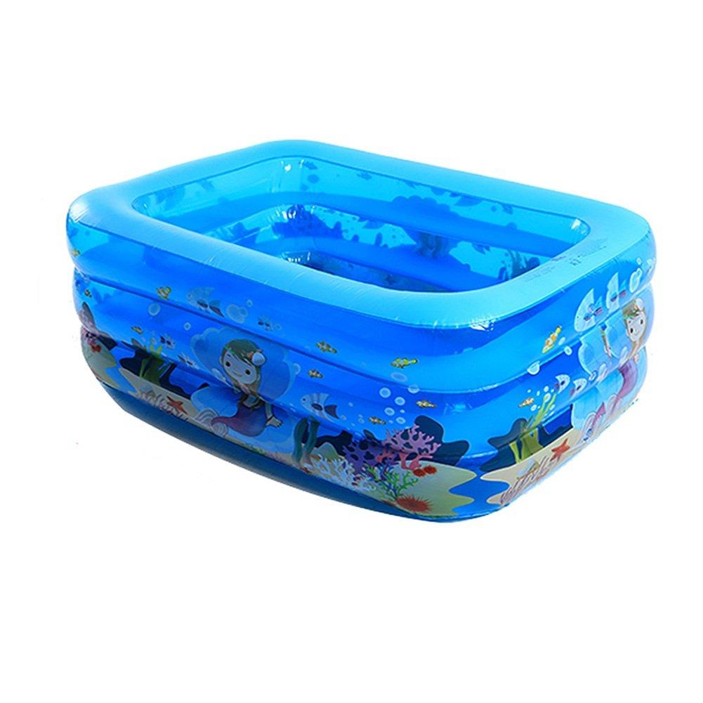 AJZGF Aufblasbarer aufblasbarer Pool der aufblasbaren Kinderbadewanne der Kinder Badewanne