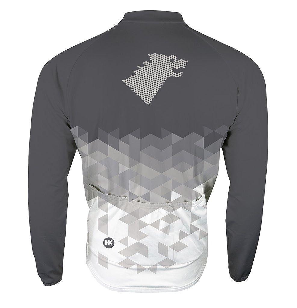 461fe8a91 Amazon.com  Hill Killer  Direwolf Gray  Men s Thermal Cycling Jacket   Clothing