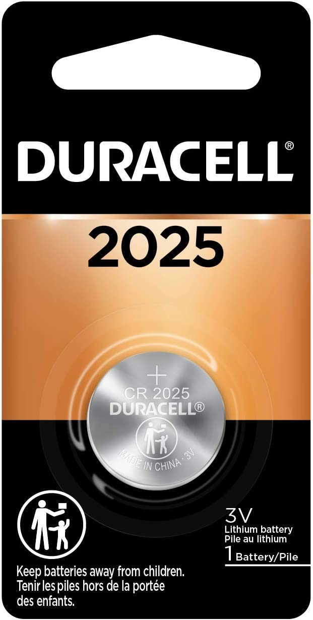 Duracell - 2025 3V Lithium Coin Battery - Long Lasting Battery - 1 Count