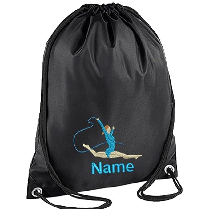 Para gimnasia image bordado de personalizado de tu propio mochila de cordones para gimnasio de cuerdas