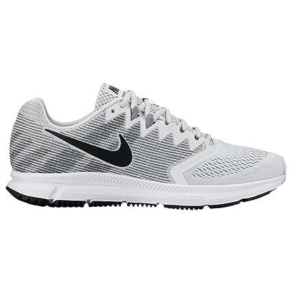 Amazon.com  Nike Men s Air Zoom Span 2 Running Shoe, Pure Platinum ... 306a8ec1e7ac