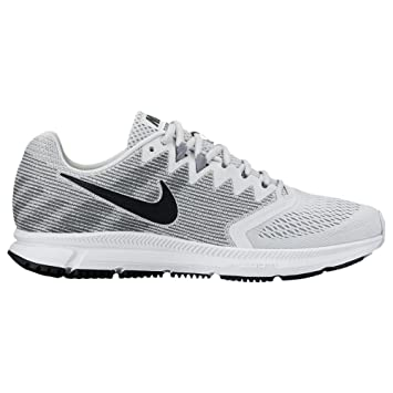best website 961f7 57c0c Nike Herren Air Zoom Spannweite 2 Laufschuh, Pure Platinum Black-Wolf grau,