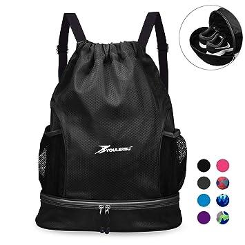 2b862737171f YOULERBU Gym Drawstring Bag