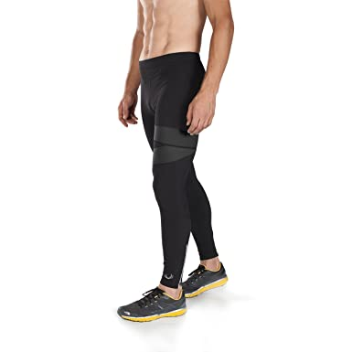 badeaa6fc56d Amazon.com: BioSkin Mens Running Tights - Premium Compression Running Tights  - Quick Dry Italian Fabric Mazama Tight: Clothing