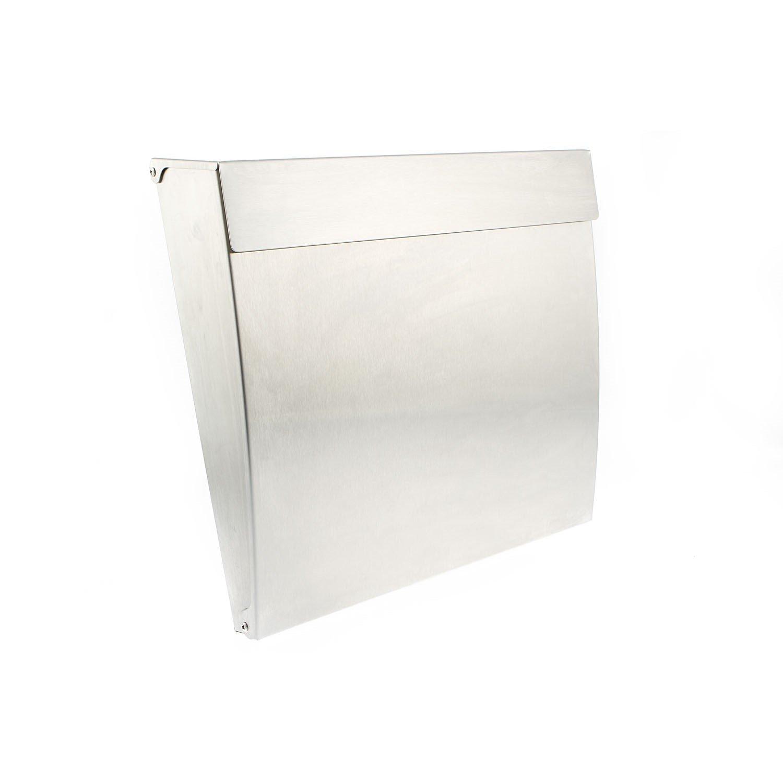 Sterling Calder Steel Postbox - Stainless Steel Sterling Locks MB10ST