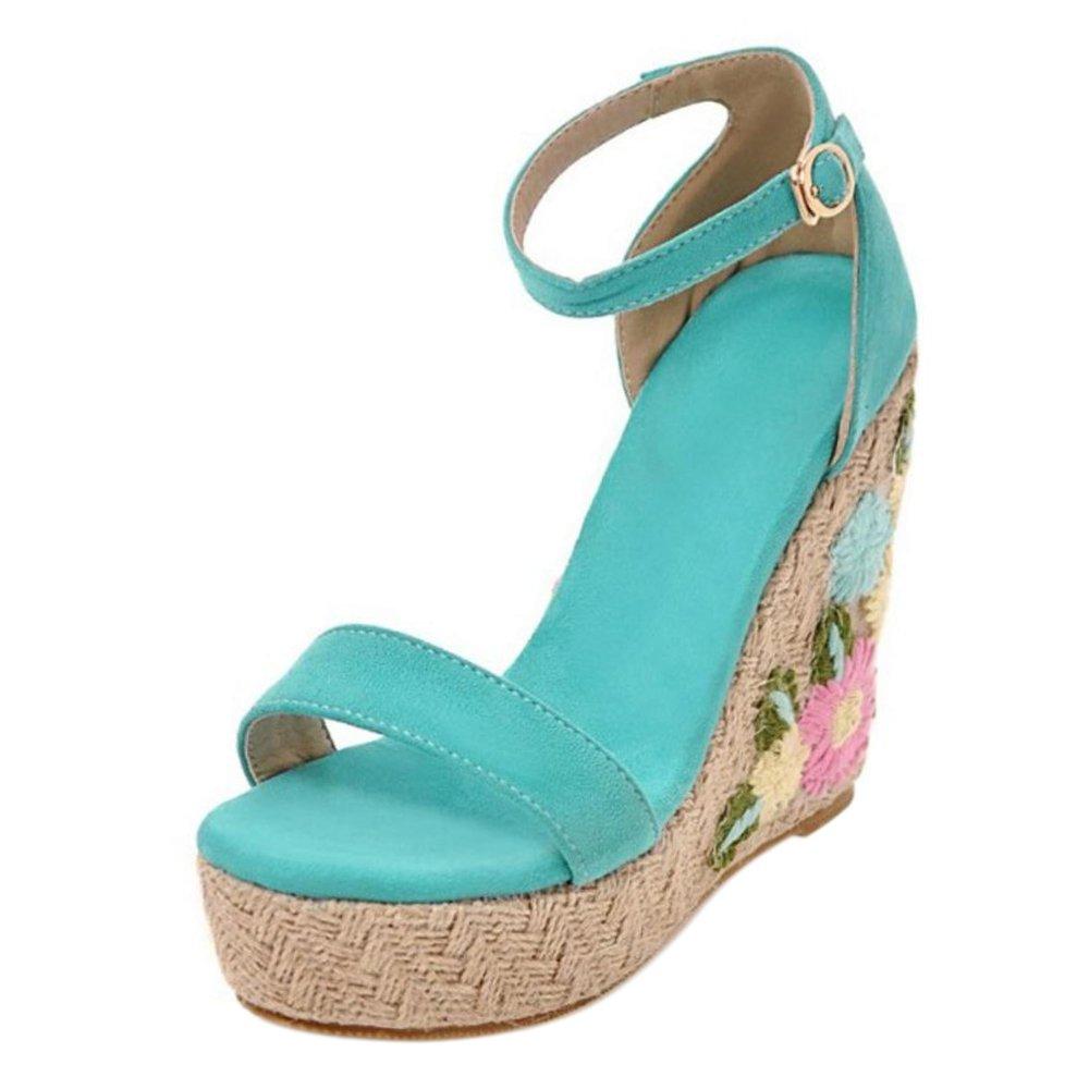 Sandals AicciAizzi Women Ankle Strap Sandals Shoes Wedge