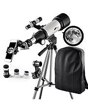 Amazon.fr : Télescopes - Jumelles, téléscopes et Optique : High-Tech : Réflecteurs, Réfracteurs