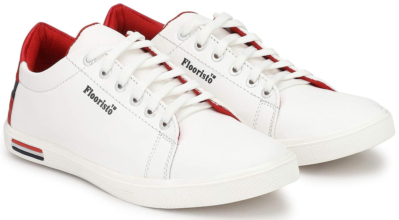 Buy Flooristo Stylish White Casual