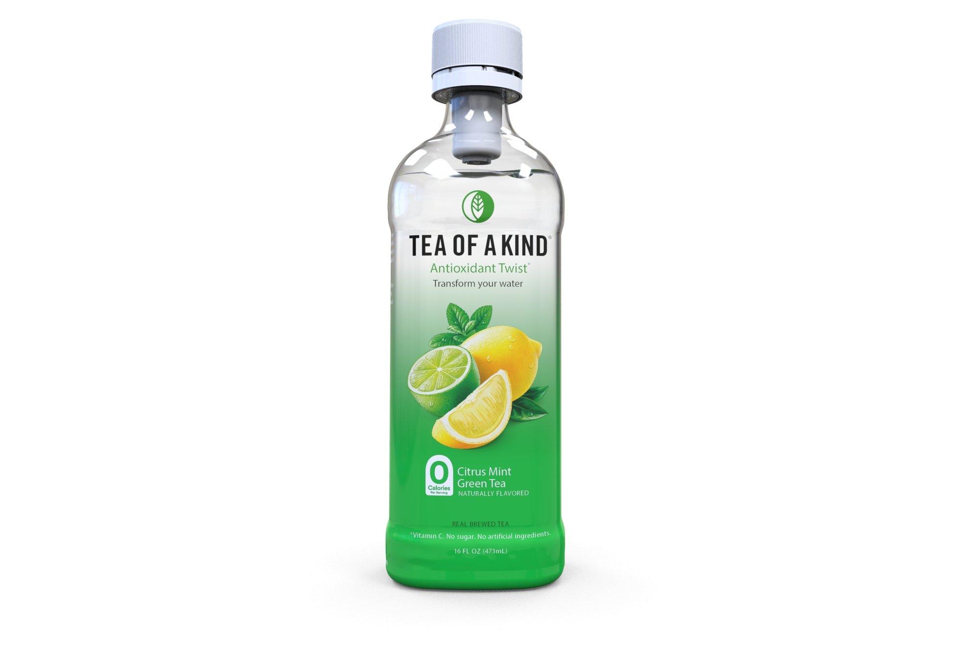 Tea of a Kind Green Tea, Citrus Mint, 16 Ounce (Pack of 12)