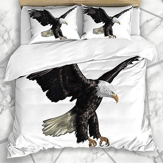 DINANY Ropa de Cama - Funda nórdica Fauna Americana águila Calva ...