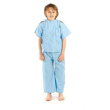 1e0b762c06419 Male Nurse Light Blue Full Outfit Costume Childrens Kids Fancy Dress Play  3-5: Amazon.co.uk: Kitchen & Home