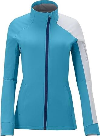 Salomon MOMEMTUM 3 - hellblaue Chaqueta, Chaqueta de esquí de Fondo para Mujer (Tallas S - L, Azul: Amazon.es: Deportes y aire libre