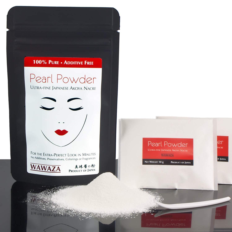 Ultra Fine Japanese Akoya Nacre Pearl Powder - 20 grams (0.7 oz)