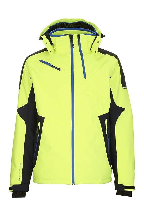 Ropa de esquí neón chaqueta Killtec para hombre