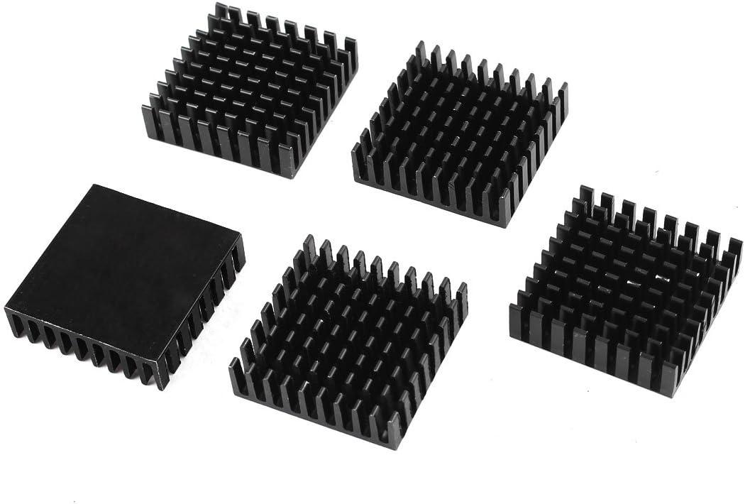 5Pcs For Raspberry Pi Rpi All Models Copper Heatsink Cooler Set Heat Sink Ic sl