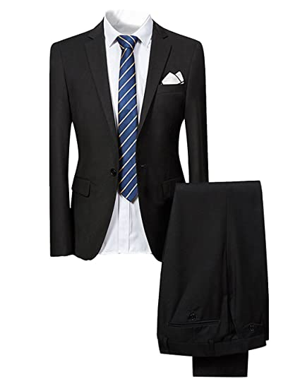 Benibos Mens Fashion Suit Jacket Blazer One Button Weddings Party Dinner Prom Tuxedo