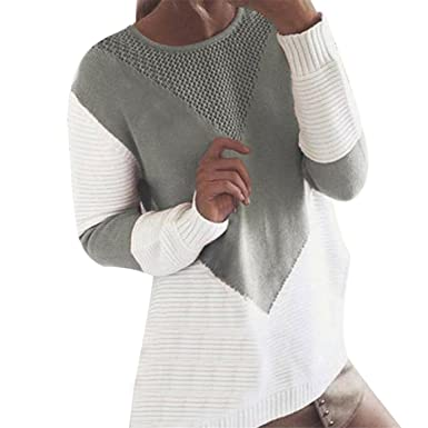 695250fc860c09 Frauen Langarm Strickwaren Pullover,Moonuy Dame Spring Cardigan Coats,  Winterjacke Casual Cotton Blend Pullover