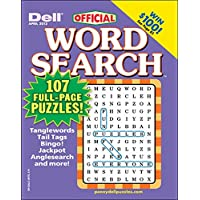 1-Year (6 Issues) of Dell Word Search Puzzles Magazine Subscription