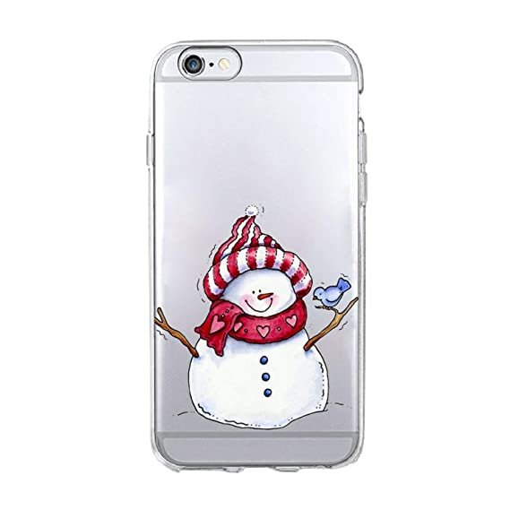 Amazon.com: Merry Christmas New Year snowmanphone Case for ...