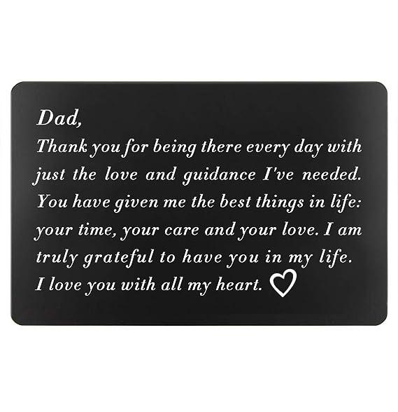 Amazon.com: Regalos de cumpleaños para papá de la hija ...