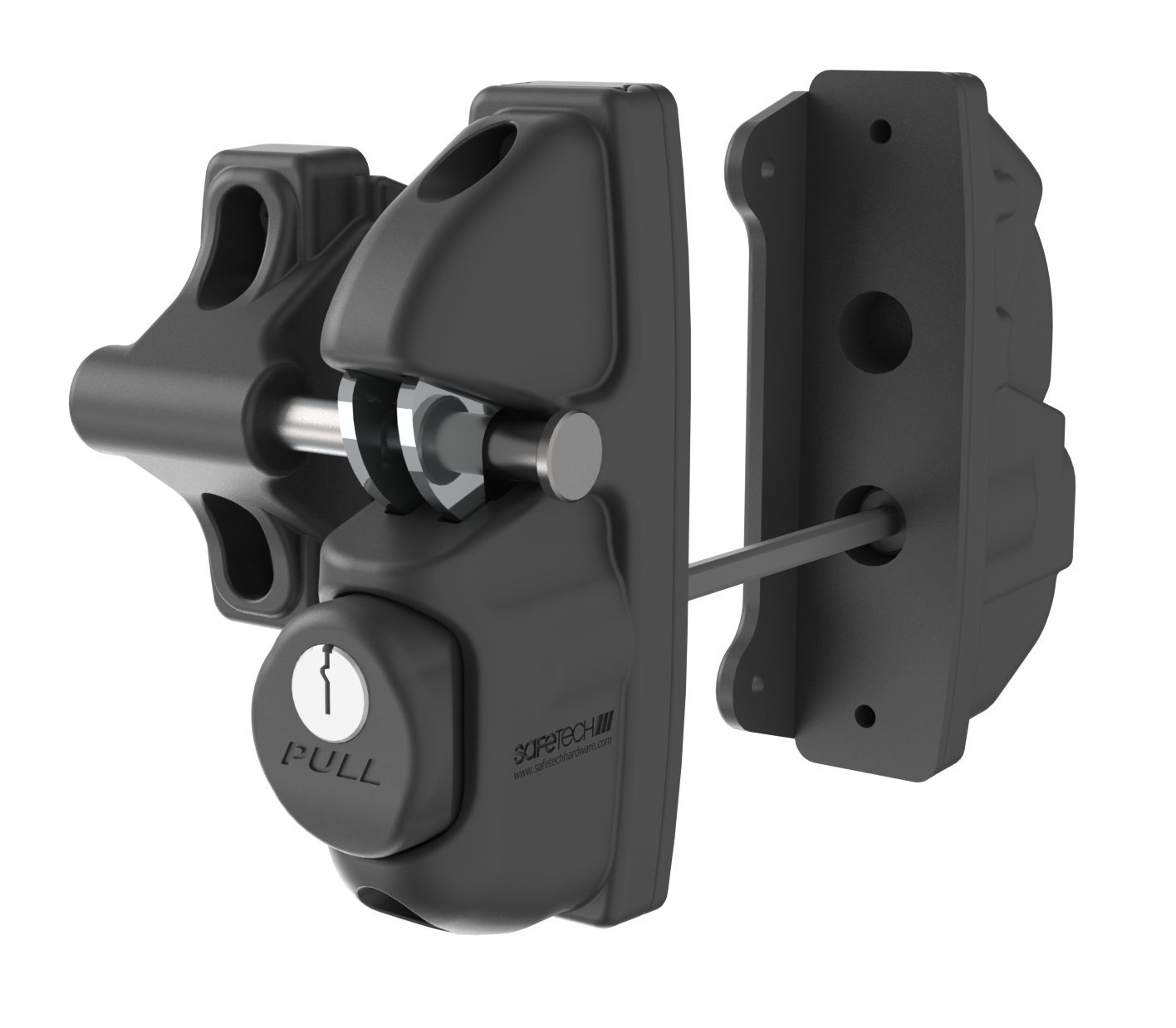 Amazon.com: Safetech Viper Gate Latch (SLV VIPER X2) (Black): Home  Improvement