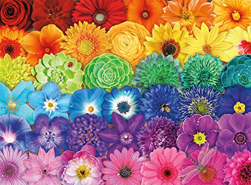 🥇 Buffalo Games – Blooms of Color – 1000 Piece Jigsaw Puzzle