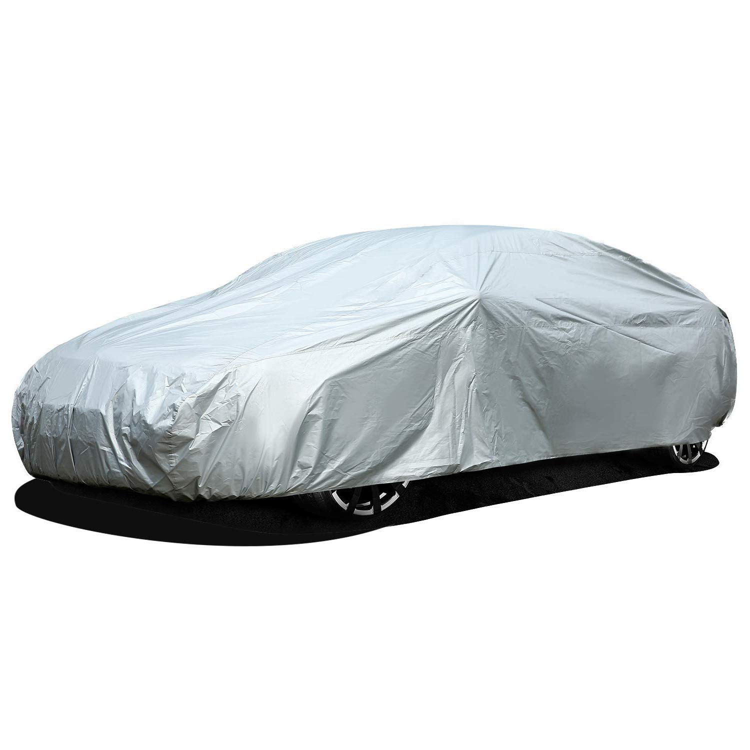 TanYoo Cars Car Cover 210/'/'75/'/'55/'/' Fits Sedan XL Up to 210/'/' 100/% Waterproof Non-Woven Fabric Soft Breathable Auto Cover Protect from UV Rain Wind Snow Dirt Dust Moisture Corrosion 3 Layers