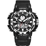 Reloj digital deportivo para mujer, resistente al agua, analógico, reloj de pulsera para mujer
