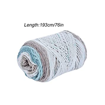 Amazon.com: Hilo de lana de seda suave natural para tejer ...