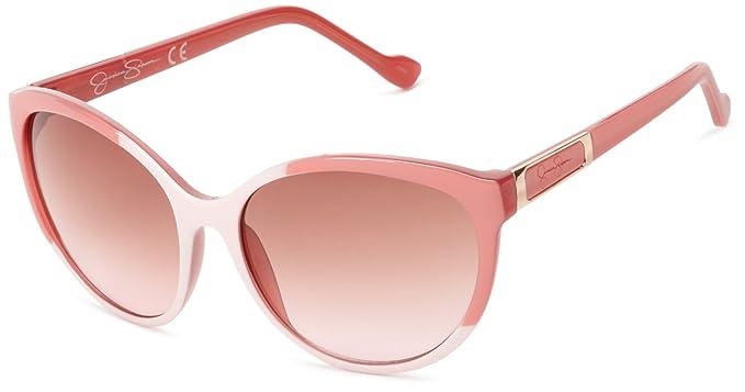00ab895012 Amazon.com  Jessica Simpson J5016 Cat Eye Sunglasses