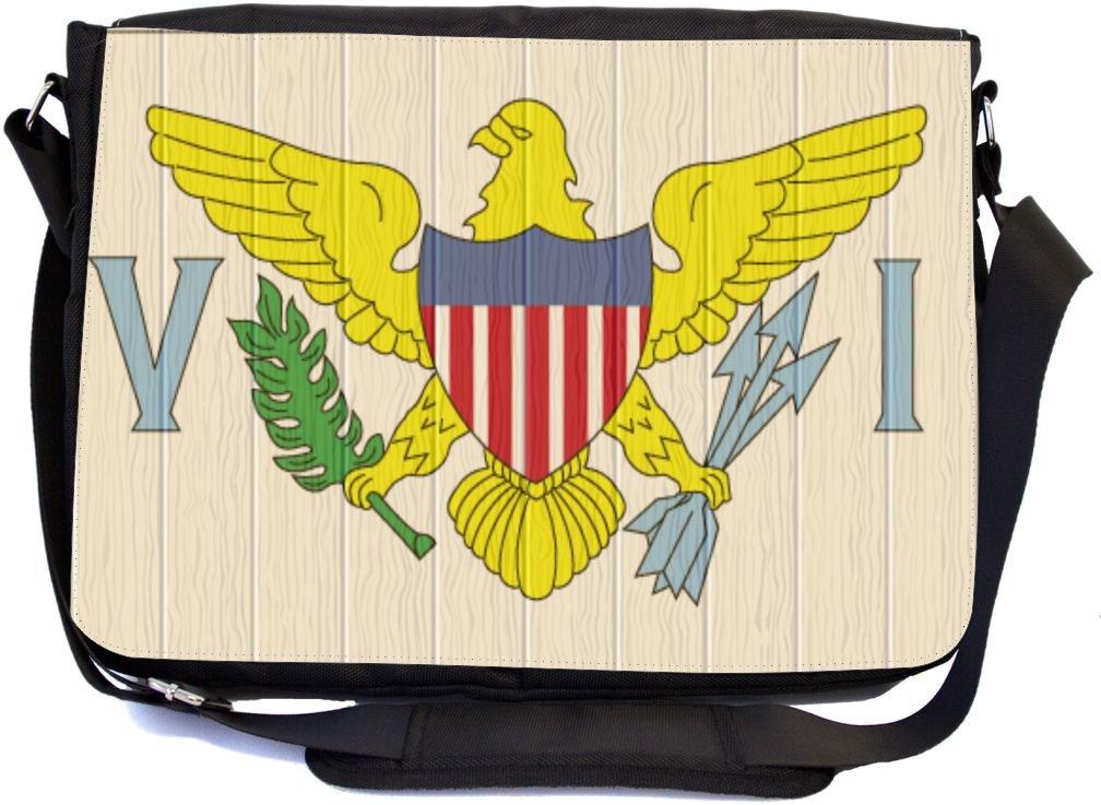 Custom Wisconsin State Eagle Flag Compact Travel Windproof Rainproof Foldable Umbrella