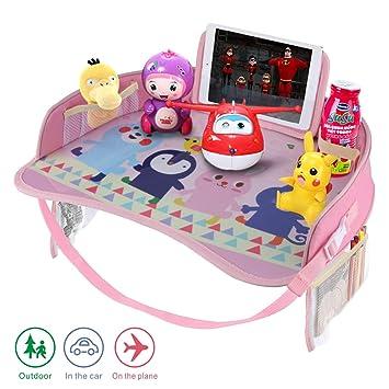 Amazon.com: Idefair - Bandeja de viaje para niños, asiento ...