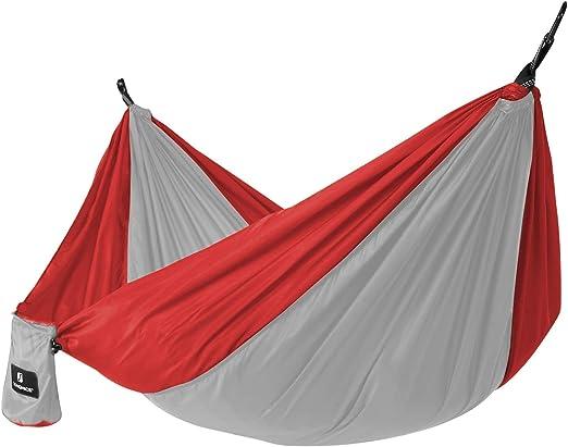 SONGMICS Hamaca de Camping, 275 x 140 cm, 300 kg Capacidad de ...