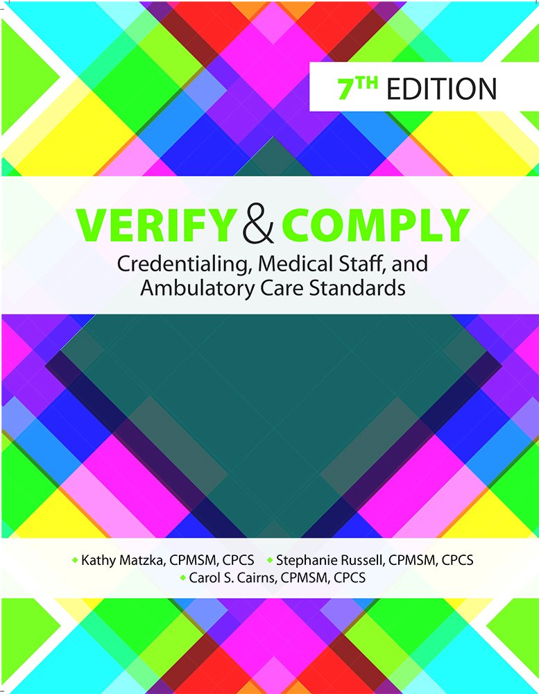 Amazon Buy Verify And Comply Credentialing Medical Staff And