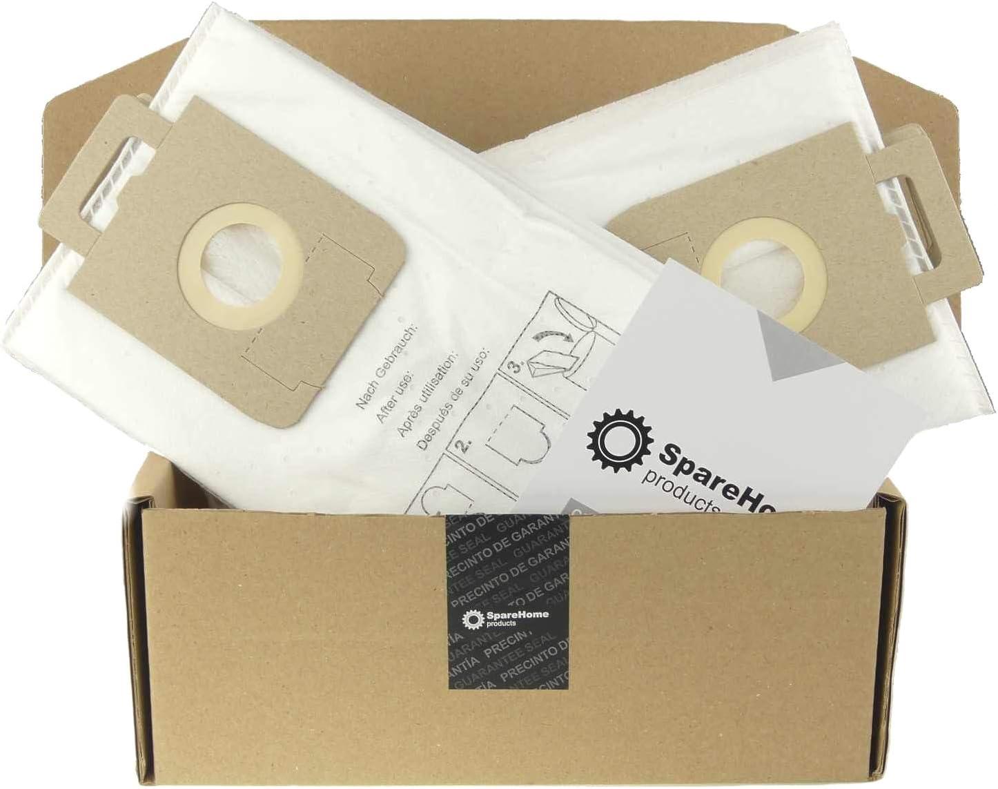 10 Bolsas de alta filtración para aspirador Nilfisk Select: Amazon ...