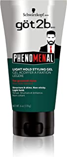 product image for Got2b Phenomenal Light Hold Styling Hair Gel, 6 Ounce