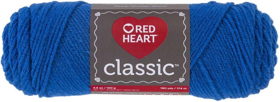Red Heart 61502 Classic hilo Skipper Azul