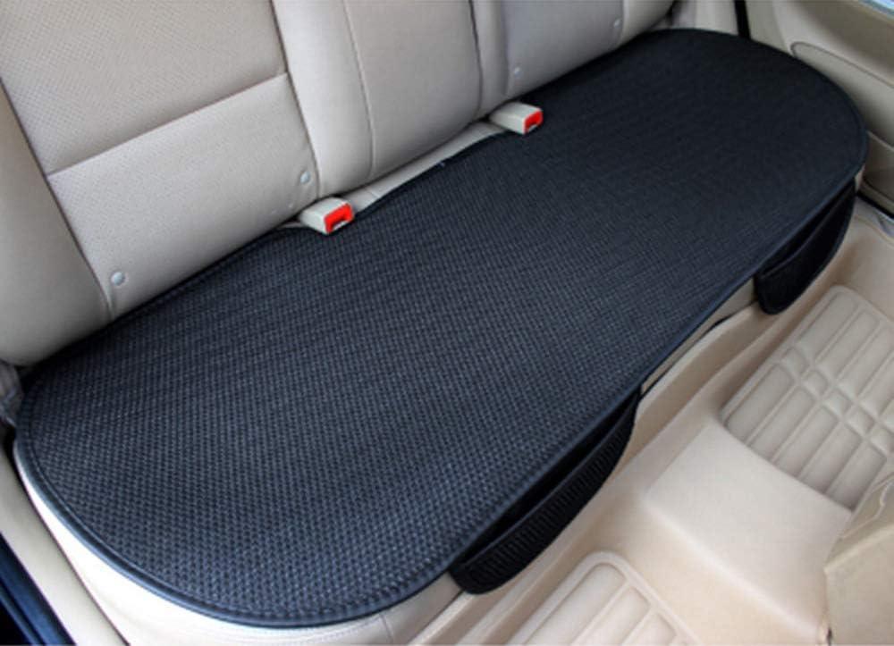 GUOCU Weich Sitzauflagen Auto Autositzberz/üge Sitzkissen Auto Sitzauflagen f/ür Auto Vordersitze mit PU-Leder,Orange,R/ücksitz